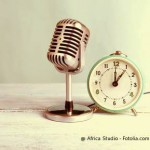 Am Mikro: Sängerin Ana Teresa Schreiber